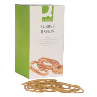 Q-Connect Rubber Bands No.69 152.4 x 6.3mm 500g KF10554