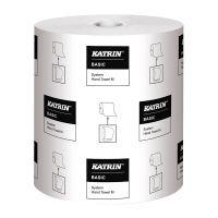 Katrin Basic System Towel M 1-Ply Blue (Pack of 6) 460218