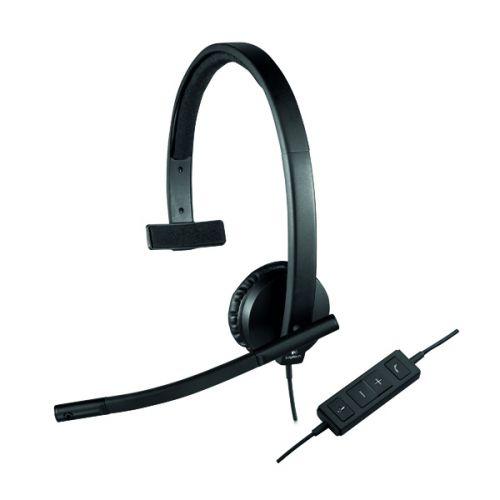 Logitech H570E Mono Headset 981-000571