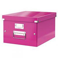 Leitz Click & Store Medium Storage Box Pink 60440001