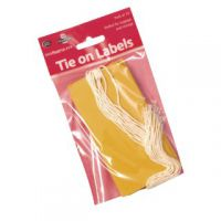 Flexocare Yellow Luggage Tags (Pack of 10) 54332026
