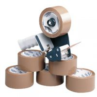 Tape Dispenser With 6 Rolls Polypropylene Tape 50mmx66m 9761Bdp01 (Pack of 6)