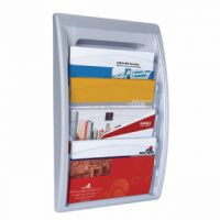 Fast Paper Oversized Quickfit Wall Display Silver 4060.35