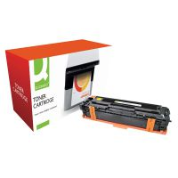 Q-Connect Compatible Solution HP 125A Yellow Laserjet Toner Cartridge CB542A