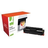 Q-Connect Compatible Solution HP CF412X M452 Laser Toner Cartridge High Yield Yellow CF412X