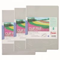 Pentel Recycology Clip A4 File Blue (Pack of 10) DCB14C