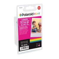 Polaroid Canon PG-540 Black / CL-541 Colour Remanufactured Inkjet Cartridge 5225B006-COMP PL