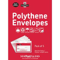 Polythene Size 5 Bubble Mailer (Pack of 13) 101-3491