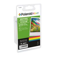 Polaroid Brother LC123BK Remanufactured Inkjet Cartridge Black LC123BK-COMP PL