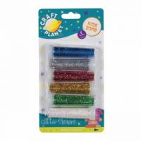 Glitter Shakers Assorted Colours (Pack of 6) CPT672100