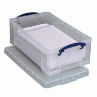 Really Useful Clear 12L Plastic Storage Box 465x270x150mm C4 12C