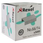 Rexel No. 66 14mm Staples (Pack of 5000) 06075