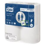 Tork Conventional Toilet Roll 2-Ply 320 Sheets (Pack of 36) 100320