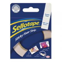 Sellotape Sticky Fixers Strip 25mm x 3m 484330
