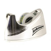 Sellotape Chrome Dispenser Small 504045