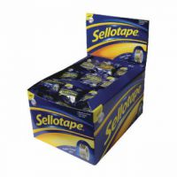 Sellotape Super Clear Tape 18mmx10m (Pack of 50) 1443330