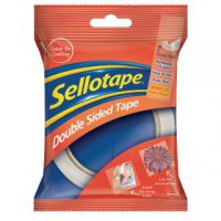 Sellotape Double Sided Tape 25mm x 33m (Pack of 6) 1447052