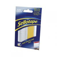 Sellotape Sticky Hook and Loop Strip 450mm 1445183