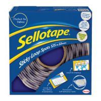 Sellotape Sticky Loop Spots (Pack of 125) 1445181