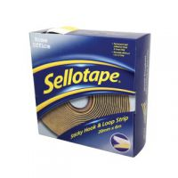 Sellotape Sticky Hook and Loop Strip 6m 1445180