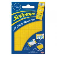 Sellotape Sticky Hook Pads (Pack of 96) 1445170