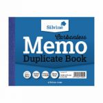 Silvine Carbonless Duplicate Memo Book 102x127mm (Pack of 12) 703-T