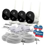 Swann 1080p Wi Fi Outdoor Camera (Pack of 4) SWWHD-OUTCAM-UK
