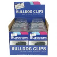 Tallon Bulldog Clips in Counter Display Unit (Pack of 12) 9194