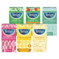 Tetley Fruit and Herbal Tea Starter Pack (Pack of 150) 1581X