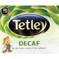 Tetley Decaffeinated Tea Bag (Pack of 80) 5012X