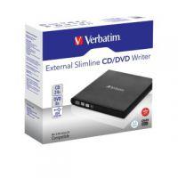 Verbatim Black Mobile DVD Rewriter USB 2.0 98938