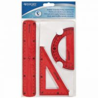 Westcott Flexible Ruler Set of 3 Assorted Colours (Pack of 12) E-10301 00