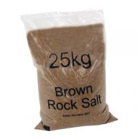 Dry Brown Rock Salt 25kg Bag (Pack of 20) 384072