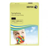 Xerox A3 Symphony Tinted 80gsm Pastel Yellow Copier Paper (Pack of 500) 003R91957