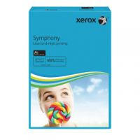 Xerox A4 Symphony Tinted 80gsm Dark Blue Copier Paper (Pack of 500) 003R93959