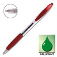 Bic Atlantis Retractable Ball Pen Red