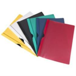Clip files A4 6mm 60 Sheets Red