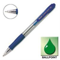 Supergrip Retractable Medium Blue