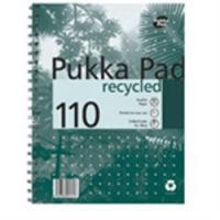 Pukka Pad Recycled No Margin 110 Sheet Pad A5