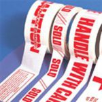 Printed Packaging Tape 6 x Handle with Care