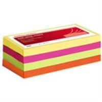 Sticky Notes  76 x 127 Neon Yellow Pink Green and Orange
