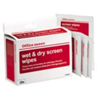 Wet - Dry Scrn Wipes