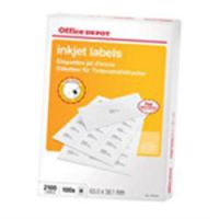 Labels Ink jet 63.5 x 38.1 mm 100 Sheets Rounded Corners
