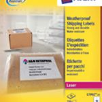 Avery Weatherproof Shipping Label 99.1x57mm Pk 25 L7992-25