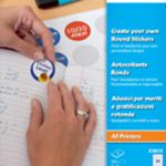 Avery Create Your Own Round Sticker Pk 8 E3613