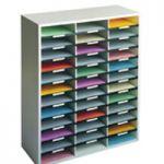 Fellowes Literature Sorter A4 36 Compartment Dove Grey 25061