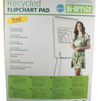 Bi-Office Earth-It Flipchart Pad A1 Plain 40 Sheets 55gsm FL0111801