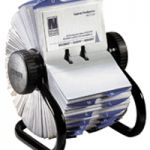 Rolodex Business File Black 400 Capacity 67236