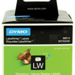 Dymo Shipping/Name Badge Label 54x101mm Pk 220 99014 S0722430