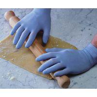 Shield Powder-Free Latex Gloves Blue Small Pk 100 Gd40
